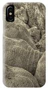 Huddled Yearling Rams IPhone Case