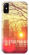 Hudson River Winter Sunset IPhone Case