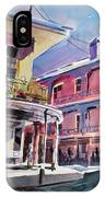 Hues Of The French Quarter IPhone Case