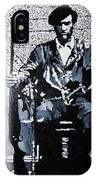 Huey Newton Minister Of Defense Black Panther Party IPhone Case