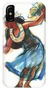 Hula Dancer With Uli IPhone X Case