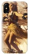 Hula On The Beach IPhone Case