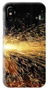 Hull Maintenance Technician Welds Scrap IPhone Case