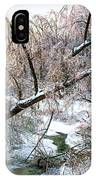 Humber River Winter 3 IPhone Case