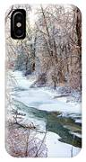 Humber River Winter IPhone Case
