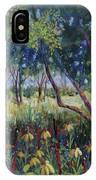 Hummingbird Gardens IPhone Case