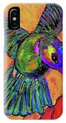Hummingbird On Yellow IPhone Case