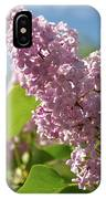 Hungarian Lilac 4 IPhone Case