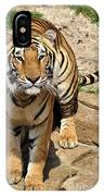 Hunger Tiger IPhone Case