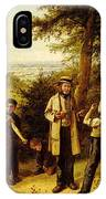 Hunt Charles The Peace Maker IPhone Case