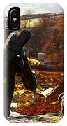 Hunter After The Hunt IPhone Case