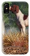 Hunting Dog By A River IPhone Case