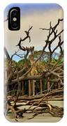 Hunting Island Driftwood Beach Beaufort Sc IPhone Case