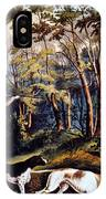 Hunting: Woodcock, 1852 IPhone Case