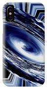 Hurricane In Space Abstract IPhone Case