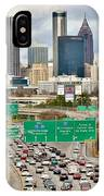 Hustle And Bustle On The Highways And Byways IPhone Case