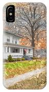 H.w Baker House IPhone Case