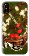 Hyacinth Heart IPhone Case