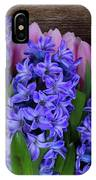 Hyacinths And Tulips II IPhone Case