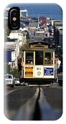 Hyde Street Cable Car 1978 IPhone Case