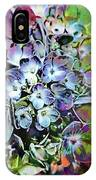 Hydrangea Abstract IPhone Case