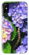 Hydrangea Blues IPhone Case