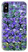 Hydrangea Bubbles IPhone Case