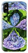 Hydrangea Cross IPhone Case