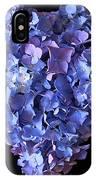 Hydrangea Heart IPhone Case