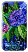 Hydrangeas 88 IPhone Case