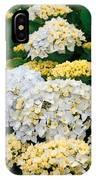 Hydrangeas Blooming IPhone Case