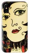 Hypnotic Beauty IPhone Case