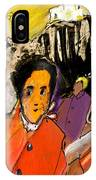 I Dreamt Of Oscar Wilde IPhone Case