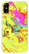I Feel All Scrambled Inside Without You IPhone Case
