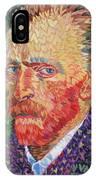 I Heart Van Gogh Portrait Of Vincent IPhone Case