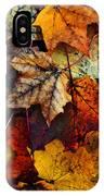 I Love Fall 2 IPhone Case