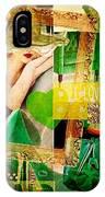 I Love Green IPhone Case