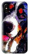 I Love Mountain Dogs IPhone Case