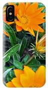 I Love Orange Flowers IPhone Case