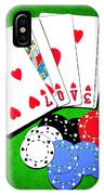 I Love Poker IPhone Case