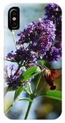 I Love The Purple Ones IPhone Case