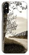 I Walk The Gravel Road 2 IPhone Case