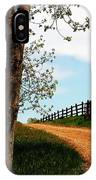 I Walk The Gravel Road IPhone Case
