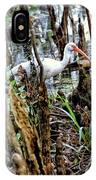 Ibis In The Swamp IPhone Case