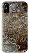 Ice And Rock Abstract IPhone Case