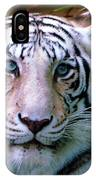 Ice Blue Eyes Of The Tiger IPhone Case