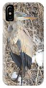 Ice Cold Heron IPhone Case