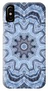 Ice Patterns Snowflake IPhone Case