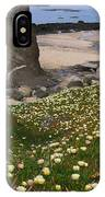 Ice Plants On Moss Beach IPhone Case