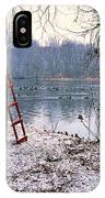Ice Rescue Ladder  IPhone Case